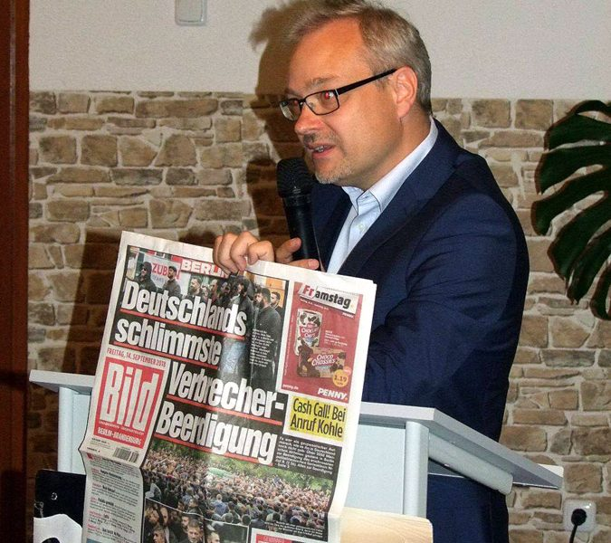 Veranstaltung zur Vorbereitung der Kommunalwahl 2019 in Östringen