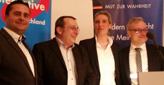 Veranstaltungen der AfD-Fraktion im Bundestag in Karlsruhe, Niedernhall und Weingarten