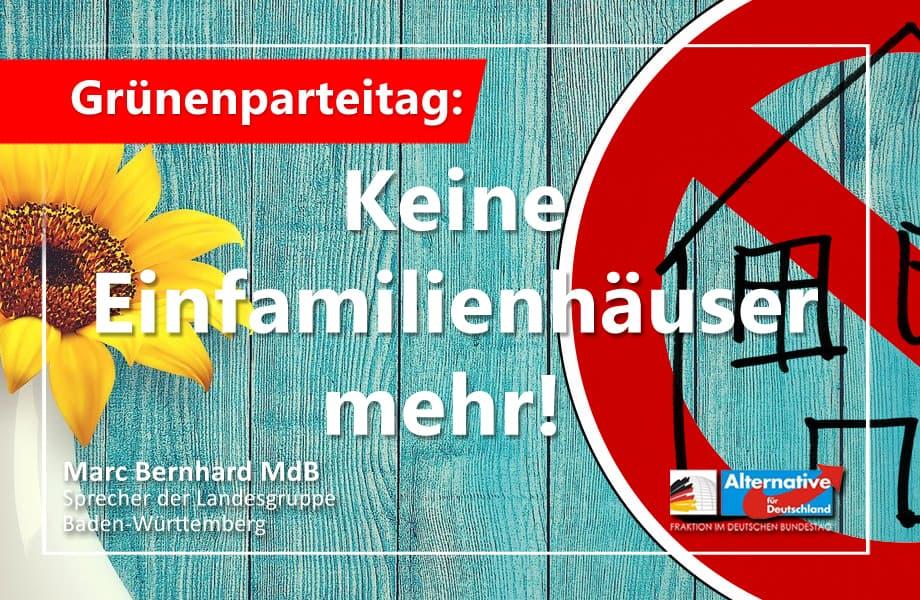 """Grüne: """"Verbote = Freiheit"""". Gretas Fanclub will uns Einfamilienhäuser madig machen"""