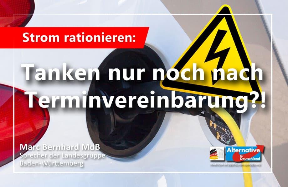 Strom in Deutschland rationieren? E-Mobilität führt in die Planwirtschaft!