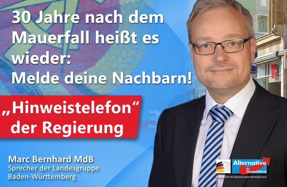 """""""Hinweistelefon"""" beim Verfassungsschutz: Staatlich geförderte Denunziation!"""