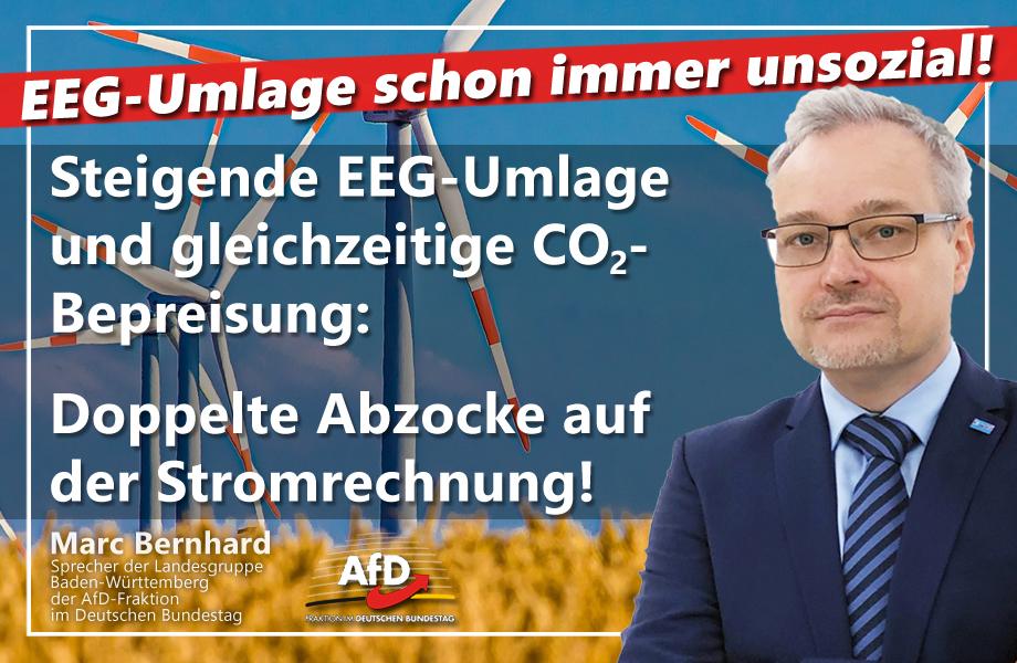 """Unsoziale EEG-Umlage: Wir zahlen bald doppelt für """"Klimaschutz"""""""