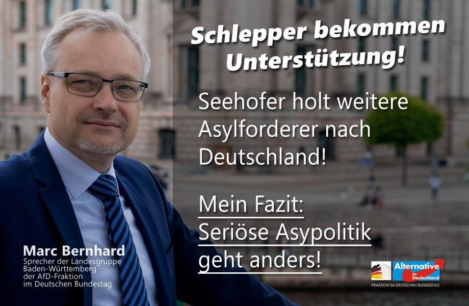 """Seehofer holt mehr """"aus Seenot gerettete"""" Migranten nach Deutschland"""