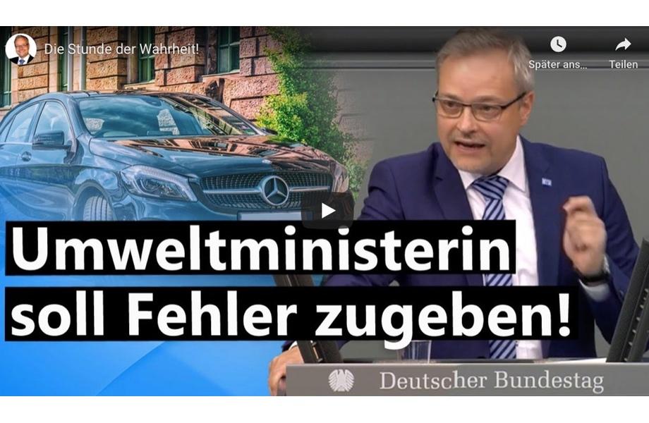 Der Umwelt zuliebe - Greta müsste Diesel fahren!