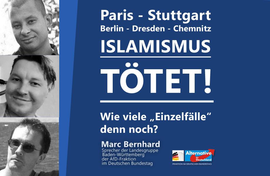 """Das Prinzip der Islamisten: """"Töte Einen – erziehe Tausend""""!"""