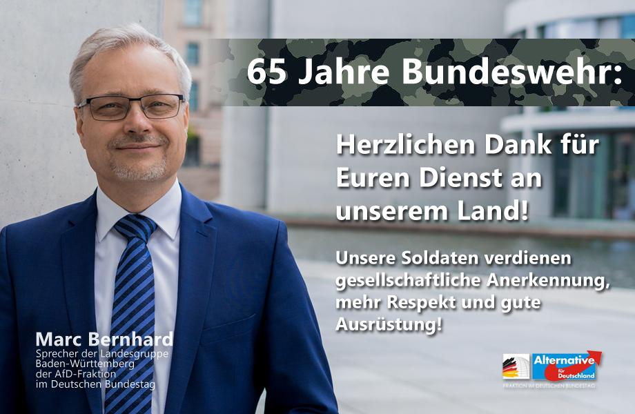 65. Gründungstag der Bundeswehr