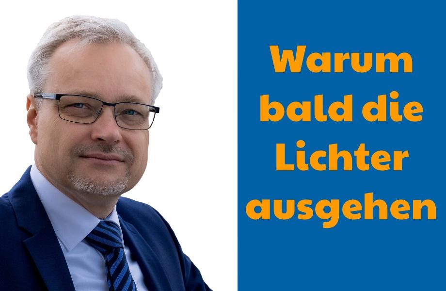 EURO7: Warum in unseren Werkshallen und Häusern bald die Lichter ausgehen.