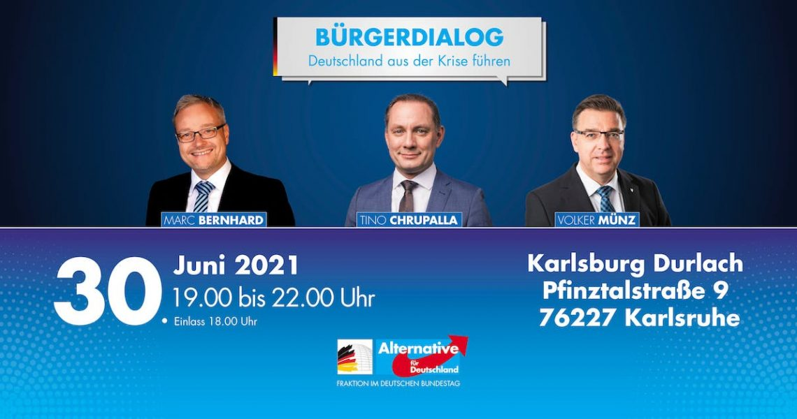 Totenstille im Kanzleramt - Chrupalla, Bernhard und Münz in der Karlsburg