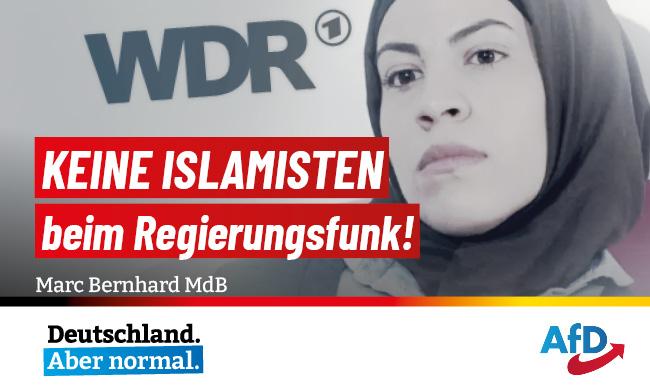 Keine Islamisten beim Regierungsfunk!